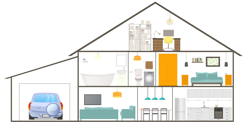 Home Automation Garage Door Floors Doors Interior Design